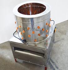 Turkey Chicken Plucker Plucking Machine Poultry De Feather Stainess Steel New Us