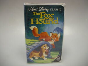USED-THE-FOX-AND-THE-HOUND-VHS-CLAMSHELL-CASE-SEE-PICTURES