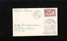 Canada Air Mail 1st Flight Machin - Kenora 1936 Cover 4q