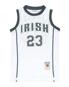 LeBron James High School Jersey 23 Irish Basketball St Vincent St ... 5208e5d2d