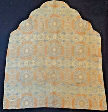 18th C.Qing [Ching] [Ch'ing] D. Chinese Silk Brocade-Woven Imperial Throne Cover