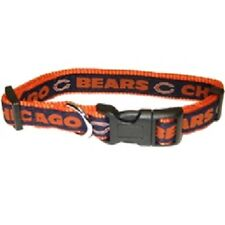 """NFL Chicago Bears Adjustable Dog Collar Size Large 1"""" W by 18-28"""" L New"""