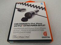Griffin GC23091 Powerjolt Plus Car Charger For iPod+iPhone+iPad (43361)