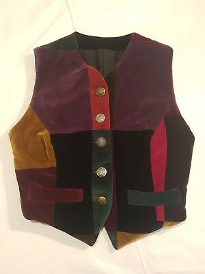 Bellissimo Dolce & Gabbana, Gilet Patchwork, Taglia 42, Made In Italy, Vintage!