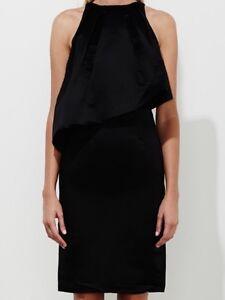 Talulah-Black-TWI9D-B-NWT-Last-Chance-Silk-Cotton-Blend-Dress-Size-L-280-00