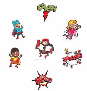 72 superhero tattoos super hero temporary kids birthday for Superhero temporary tattoos