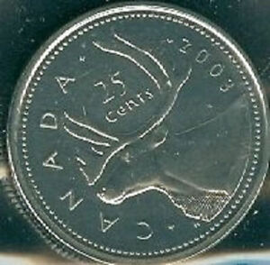2003-W-Proof-Like-Quarter-25-Cent-039-01-Canada-Canadian-BU-Coin-WP-Mark-Winnipeg