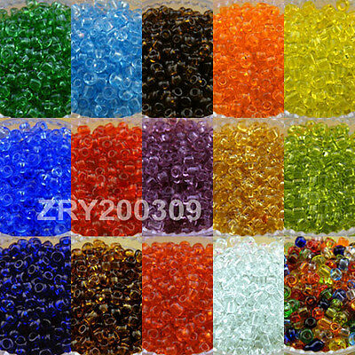 2600Pcs 2mm Czech Glass Seed Spacer beads Jewelry Making DIY Findings R0079