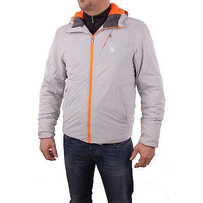 Spyder Herren 153008-050 Skijacke Berner Jacket Cirrus/Bryte Orange