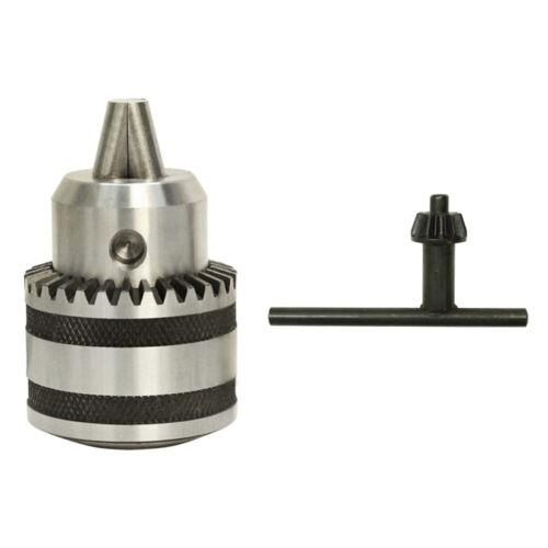 1//2/'/' JT33 Drill Chuck w// Key keyed Sleeve Heavy Duty 1//32/'/'