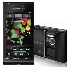 Sony Ericsson U1i Satio Black - Smartphone - UMTS, Wi-Fi, 12.1 MP, Xenon Blitz -
