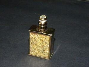 Vintage Superb Metal Perfume Bottle Cap W/ Stone Perfume Bottles