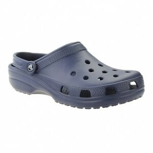 edc887397e783 Crocs Mens Classic Navy Roomy Fit Blue UK Size M8   W9 for sale ...