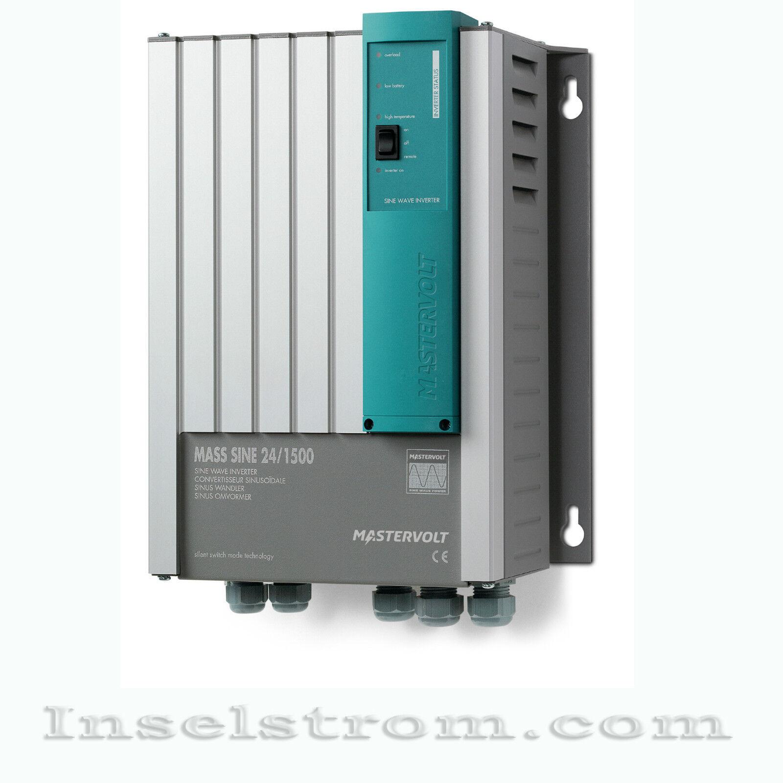 Mastervolt Mass Sine 24/1500 Wechselrichter Inverter für 24 Volt Systeme