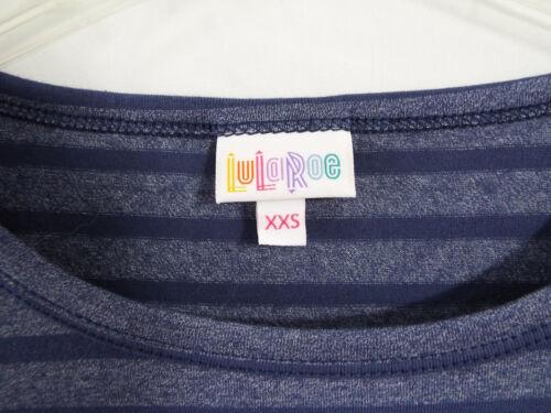 In Blu Nwt L Heathered Con Dress Lularoe Stripes Julia Fx8a8wE
