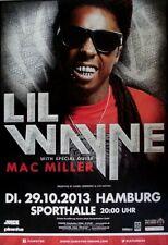 WAYNE, LIL - 2013 - Konzertplakat - Mc Miller - Tourposter