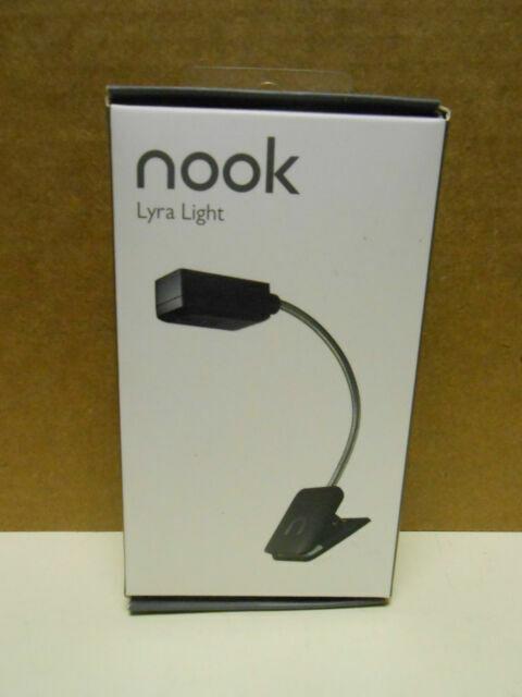 Barnes /& Noble Nook Lyra  Black  Light Clip On LED Light New In Box