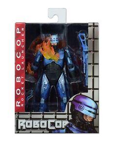 TERMINATOR-vs-ROBOCOP-Action-Figure-Rocket-Launcher-15cm-Originale-NECA-in-Box