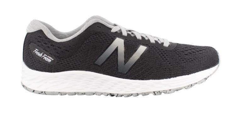 NEW BALANCE 'WARISRB1'  Gris / blanc RUNNING  Chaussures  - 10.5 / 42.5