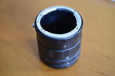 Zwischenringe Makroringe für Nikon D5200 D5100 D3200 D3200 D7000 D600   Z-0772