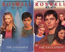 Complete Set Series - Lot of 10 Roswell High TV Novels by Melinda Metz Books