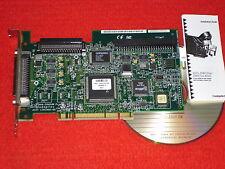 Adaptec-Controller-card aha-2940 UW pro PCI-SCSI Adapter-mapa pci3.0 + a + CD sólo: