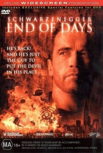 1 of 1 - End of Days - Peter Hyams NEW R4 DVD
