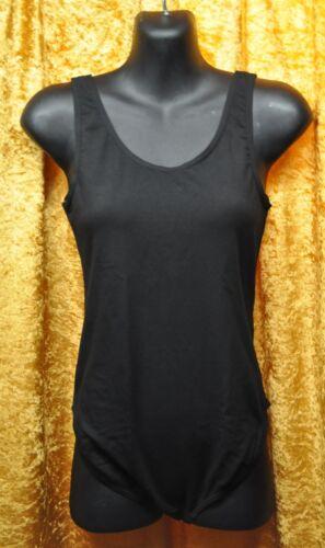 mens black cotton lcyra leotard sleeveless dancewear stuart ballet dance jazz
