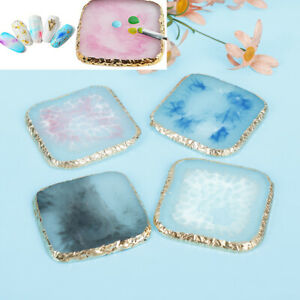 Resin-Stone-Nail-Art-Palette-Paint-Drawing-ColorDisplay-Board-Nail-Makeup-ToolBF
