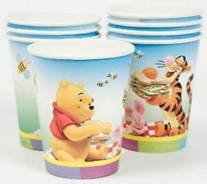 Winnie-the-Pooh-Paper-Party-Cups-8-pack-9oz