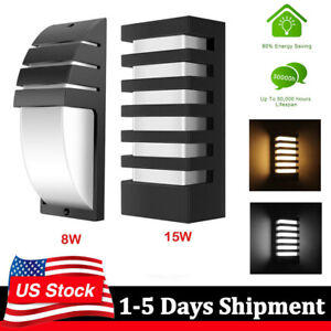 15W-LED-Wall-Sconce-Modern-Porch-Light-Wall-Lamp-Indoor-Outdoor-Light-Fixture-US