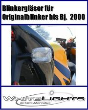 weisse Blinker-Gläser Honda CBR 600 F/900/1100 XX/VTR 1000, clear signal lenses