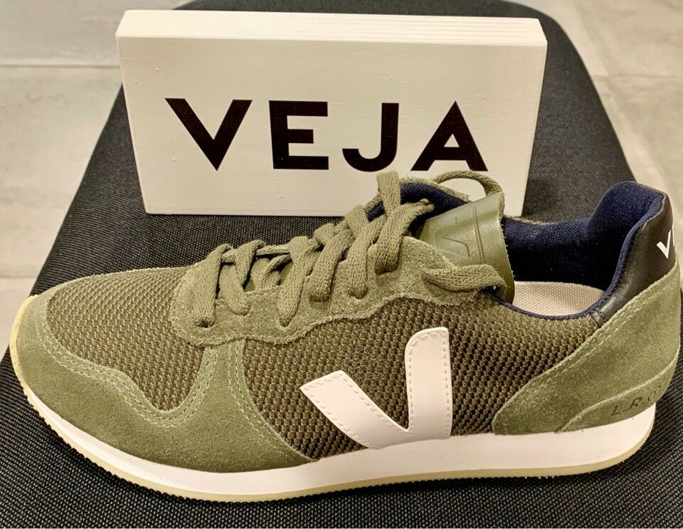 VEJA HOLIDAY LOW TOP B MESH OLIVE Weiß(-20%)
