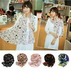 Fashion Lady Women's Shawl Soft Chiffon Scarf Scarves Stole Scarves Long Wrap