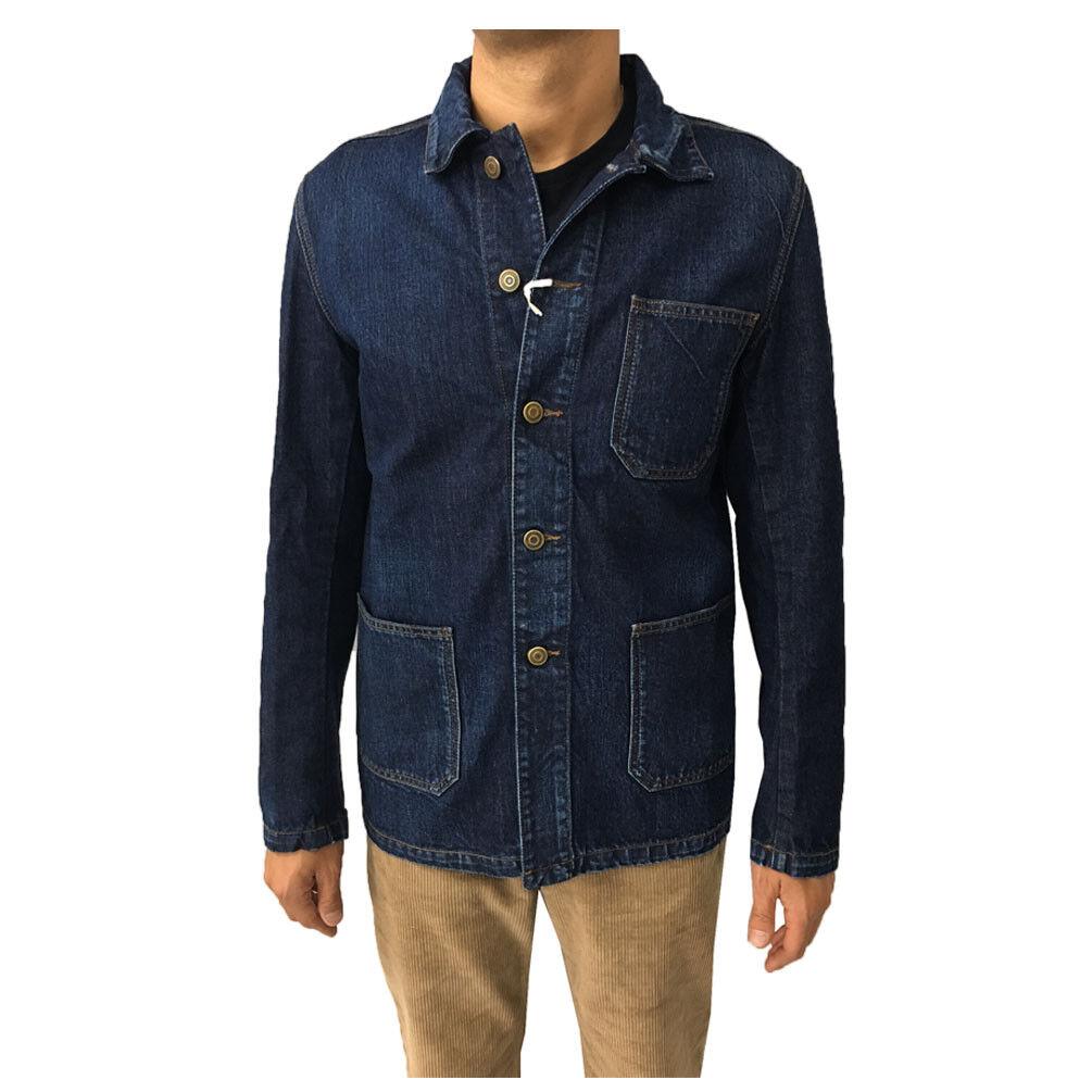 Haikure Jacke Jeans Herren Mod Elias Old Organic Denim HEM09029 DF025 100%