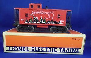 Dept 56 Electric Train Caboose Red 6 52139 LE 3000 Orange Box Interior Light