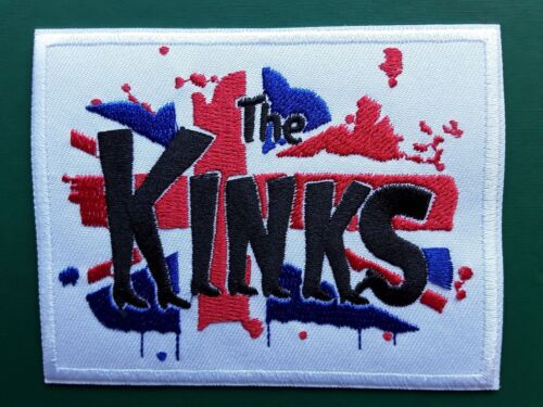 THE KINKS ENGLISH CLASSIC 60S 70S ROCK N ROLL BAND EMBROIDERED PATCH UK SELLER