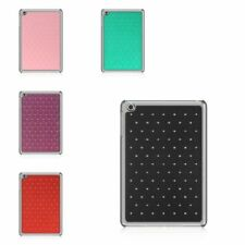 For iPad Mini 1 2 3 4 Studded Diamond Bling Hard TPU Hybrid Protective Case