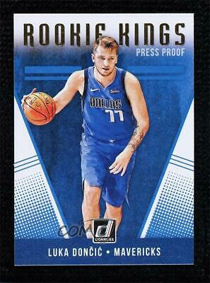 Luka Doncic 2018 Panini Instant #124 SP Basketball Slabbed Rookie Cards 1//170 Made Rookie Card PGI 10