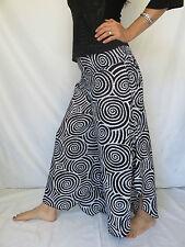 Pantalon Spiral Blanc - Vetements Ethniques Hippie Baba Cool