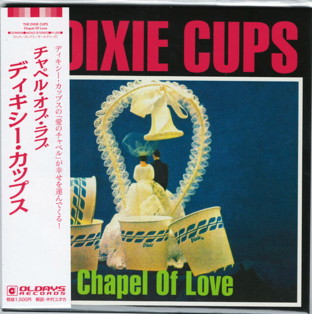 DIXIE CUPS-CHAPEL OF LOVE-JAPAN MINI LP CD BONUS TRACK C94
