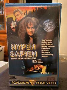 Hyper-Sapien-Hypersapien-Ex-rental-VHS-video-tape-No-DVD-HTF-Village-Roadshow