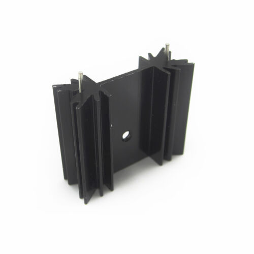 5PCS 34X12X30MM Triode IC heat sink For TO-220 Aluminum BBC
