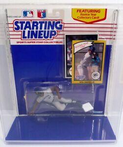 STARTING LINEUP 1990 Ken Griffey Jr Sliding Figure Seattle Mariners MOC W/Case