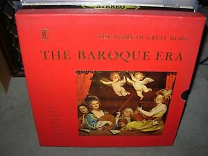 BACH & VARIOUS baroque era ( classical ) 4lp box time life ...