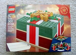LEGO-Holiday-Christmas-Rare-Exclusive-40292-Christmas-Gift-New-amp-Sealed