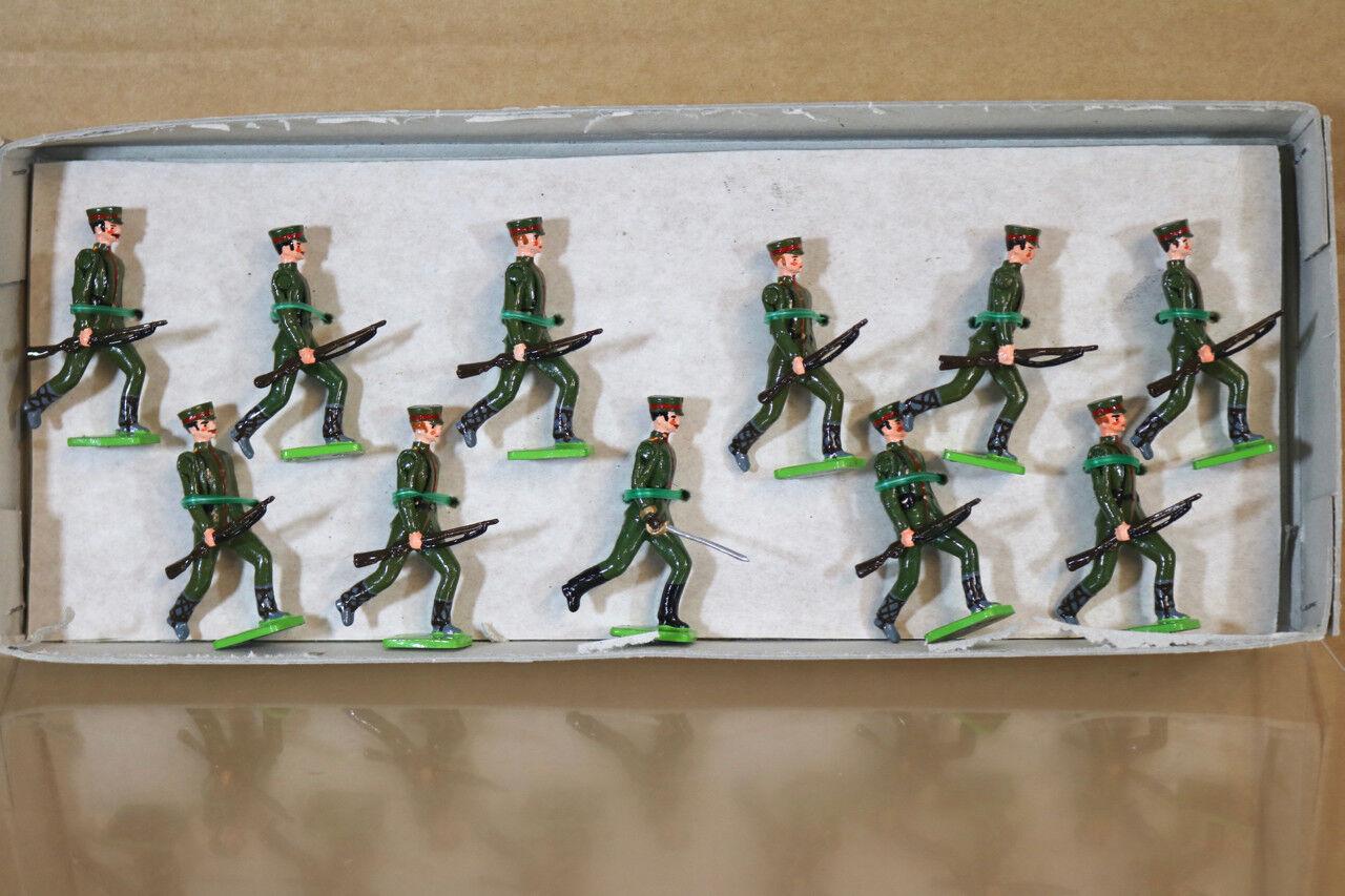 Little Wars 430 WWI Bulgarisch Infanterie Laufen in Anmarsch At The Trail Nj