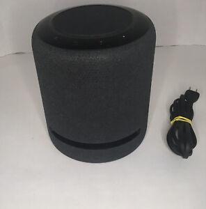 Amazon Echo Studio High Fidelity Smart Speaker with Alexa - Charcoal 3D Audio VG