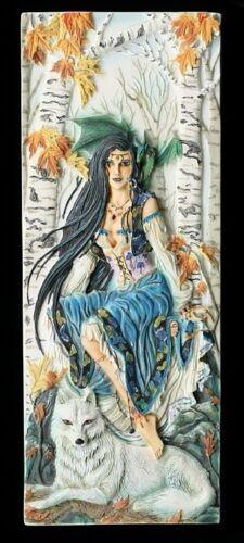 Fairysite Elfen Wandrelief Misty Morning by Nene Thomas Figur Fantasy Deko