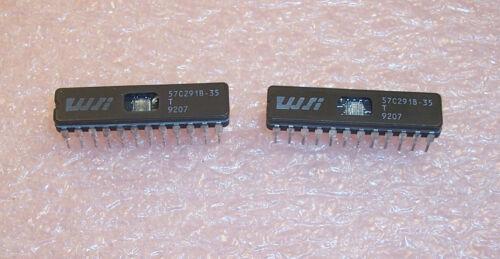 QTY 57C291B-35T WAFERSCALE  24 PIN CERAMIC DIP CLEAN SOCKET PULLS 10